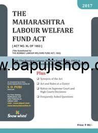 Maharashtra Labour Welfare Fund Act book